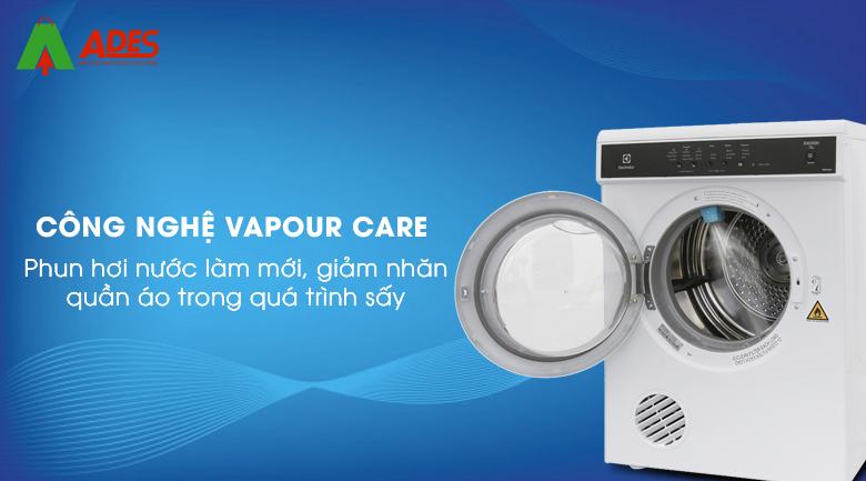 Cong nghe phun hoi nuoc Vapour Care