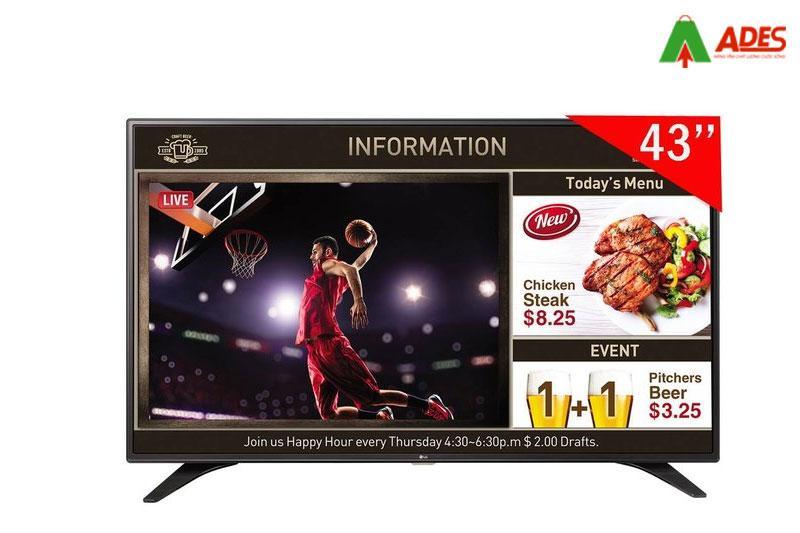 Hinh anh thuc te smart Tivi LG 43LV640S 43 Inch Full HD